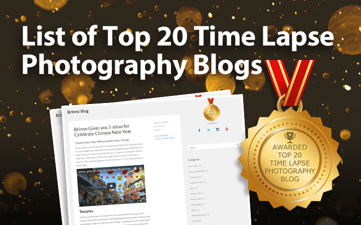List of Top 20 Time Lapse Photography Blogs