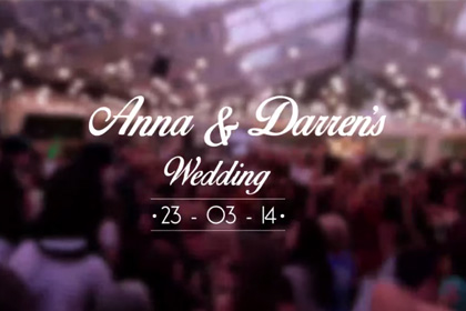 Behind the scenes of an amazing wedding - Time-lapse