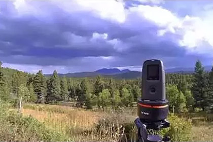 Timelapse of S. Boulder Peak with the new ART200 Panlapse Camera Stand