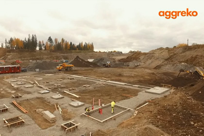 Aggreko Norway - timelapse project 2015/ 2016