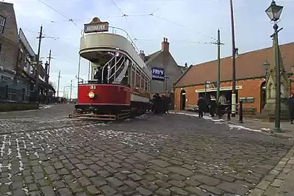 Beamish - A ride around in a Tram