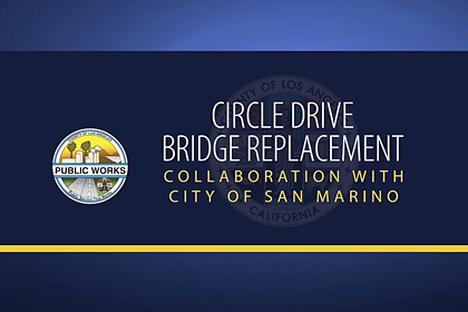 Circle Drive Bridge Replacement