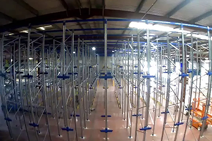 Drive-In Pallet Racking Installation