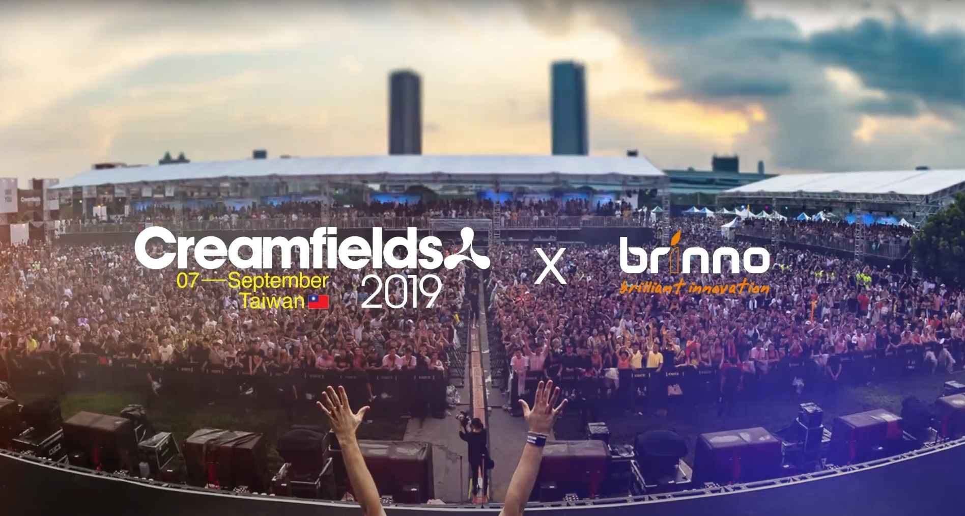 Outdoor Music Festival Set Up Time Lapse Video – Creamfields Taiwan 2019