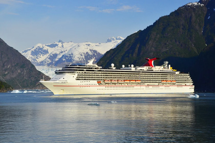 Carnival Legend Eight Day Glacier Bay Cruise 2015