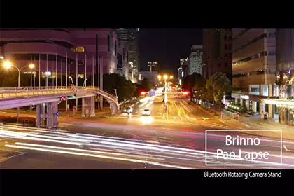 Brinno Pan Lapse (ART200)- Xi Yi Rd. Taipei (Night)